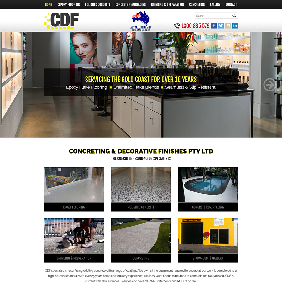 Concreting & Decorative Finishes Pty Ltd